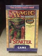 Magic The Gathering 2000 Starter Deck Sealed For Card Game MTG CCG TCG
