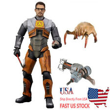 US Ship NECA Dr. Gordon Freeman Half-Life 2 Video Game 19cm PVC Flexible Figure