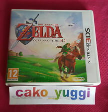 THE LEGEND OF ZELDA OCARINA OF TIME 3D NINTENDO 3DS PARFAIT ETAT VERSION PAL