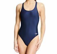 Speedo Womens Swim Navy Blue Size 28 Super Pro Pro-LT One-Piece Swimsuit $39 081