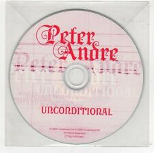 (FC594) Peter Andre, Unconditional - 2009 DJ CD