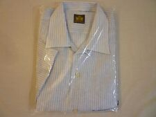 OXXFORD CLOTHES SS Linen Shirt Mens M New WO Tags Made In USA