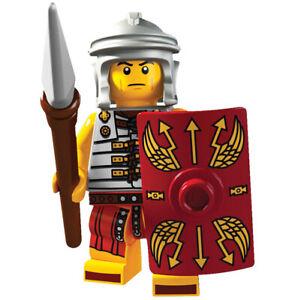 MINIFIGURE MINIFIG ROME LEGIONARY SOLDIERS - LEGIONARIO ROMANO COMPATIBILE