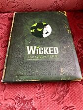 Wicked the Musical Grimmerie Official Merchandise Book
