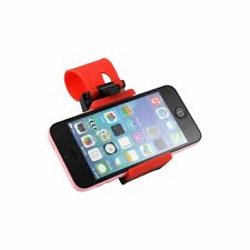 Portable Steering Wheel Mobile Phone Holder/Mount/Clip/Buckle Socket Hands Free