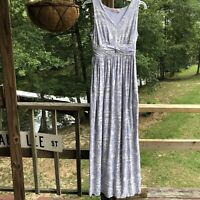 Women's Fresh Produce Size Lilac Long Boho Maxi Dress Size XS X-Small Pockets