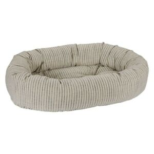 Bowsers Pet Luxury Cushioned Oval Donut Dog Bed Microlinen Fabrics