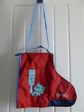 New listing OXELO Kid's SKATE CARRY BAG, For ICE-SKATES or INLINE ROLLER BLADES, Childrens