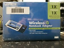 Lynksys Wireless-G Notebook Adapter Wpc54G