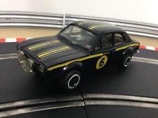 Scalextric Car Ford Escort RS1600 Black No6 C052