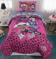LOL Surprise 4 Piece Twin Bedding Set Bed in Bag Comforter Sheets Tote 2dayShip