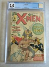 X-Men #3 CGC 2.0 Off - White pages