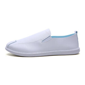 Mens Casual Loafers Gommino Driving Moccasins Leather Slip On Penny Loafer Shoes