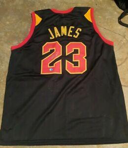 Lebron James Signed Autographed NBA Cavaliers Jersey COA