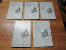 1974 LOT 5 BULLETIN OF THE NATIONAL ASSOCIATION OF WATCH AND CLOCK COLLECTORS