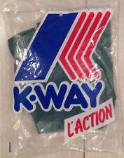 Kway Vintage Pants New Green Pantalon Neuf Vert #XS Original Retro
