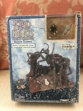 Lord Of The Rings SHELOB'S LAIR W/ FRODO & SAM PLAYSETPre-owned