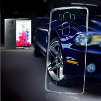 1/2 Ultrathin clear Transparent Soft TPU back Case Cover skin For LG phone X3