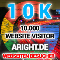 10.000 Internationale Webseiten Besucher Traffic Boost -Werbung SEO Website 10K