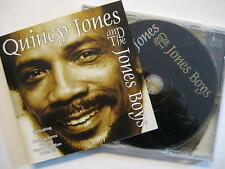 """QUINCY JONES AND THE JONES BOYS """"SAME"""" - CD"""