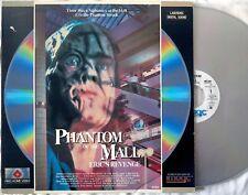 PHANTOM OF THE MALL: ERIC'S REVENGE extended laser disc 1988 Fries Home Video