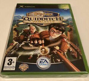 Harry Potter Quidditch World Cup Microsoft Xbox Original New Sealed U.K. Pal