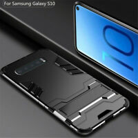 For Samsung Galaxy S10 Plus S10e S10+ Shockproof Hybrid Armor Stand Case Cover