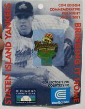 2000 Staten Island Yankees New York Penn League Champ MiLB Vintage Pin conEdison