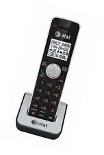 At&T Dect 6.0 Cordless Accessory Handset Phone Black/Silver Office Home