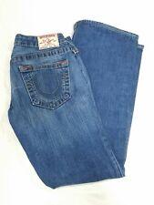 True Religion Big Rig #500 Womens - sz 27 - Blue Stone Wash Denim Low Rise Jeans