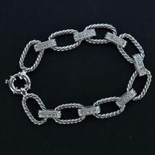 Bracciali con diamanti maglie g