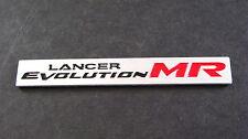 Lancer Evolution MR Mitsubishi Aluminium Badge