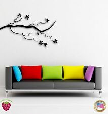 Wall Stickers Vinyl Decal Tree Flower Branch Coolest Floral Decor   z1576
