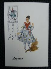 SPAIN MK 1969 COSTUMES SPANIEN TRACHTEN MAXIMUMKARTE MAXIMUM CARD MC CM a8670