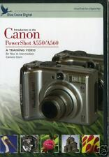 Blue Crane Training DVD: Introduction to Canon Powershot A550/A560