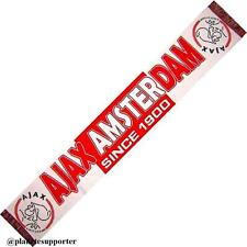 BUFANDA AJAX AMSTERDAM Holanda scarf no España bandera camiseta banderin gorra