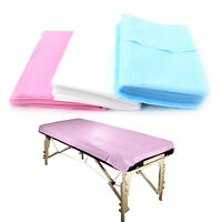10PC Waterproof Beauty Bed Massage Table Couch Cover Non-Woven Sheet 180*80cm DD