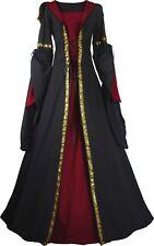 Moyen Âge Carnaval Latex Robe chasuble Costume Magdalena Léviathans Choix De Couleur
