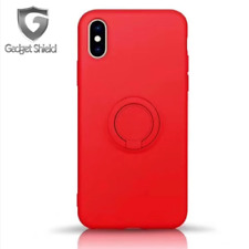 For iPhone XR X XS Max 7 8 Plus Gadget Shield®Ultra Ring Holder Slim Case Cover