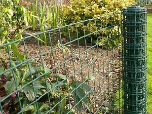 5m X --Plastic Mesh Garden Netting Flexible Fencing Plant Barrier Green