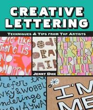 Creative Lettering Techniques And Tips from Top Artists By Doh Jenny New