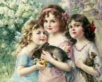 """The Three Graces""  by Emile Vernon"