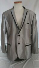 Men's Fashion Suit Blazer Dress Formal Tops Luxury Jacket Tazio Italy Size 46R
