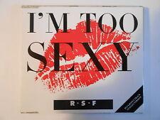 "RSF R*S*F : I'M TOO SEXY (12"" + ITALIAN VERSION) - [ CD-MAXI - PORT 0€ ]"