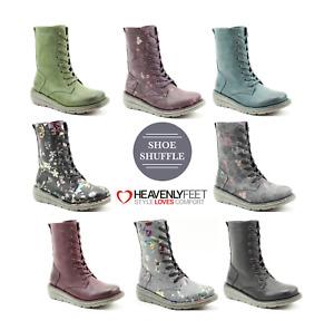Heavenly Feet Martina 3 Vegan Friendly Memory Foam Lace up Ladies Boot
