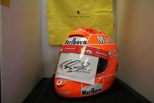 Michael Schumacher original Schuberth Ferrari Helm mit Unterschrift