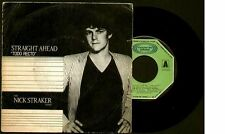 "THE NICK STRAKER BAND - Straight Ahead / Instr. - SPAIN SG 7"" Movieplay 1983"