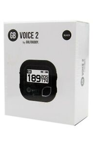 Golf Buddy Voice 2 Golf GPS/Rangefinder With Over 40,000 Preloaded Courses Black