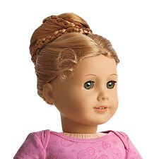 "American Girl MY AG CHIC BUN RED for 18"" Dolls Hair Extension Retired NEW"