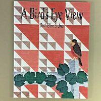 Bird's Eye View quilt pattern book Srubas crow bluebird finch cardinal sparrow